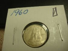 1960 - Canada - silver 10 cent coin - Canadian dime