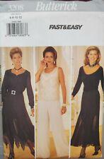 Butterick fast & easy pattern 3208 Misses/Petite Skirt, Pants, Slip sz 6,8,10,12
