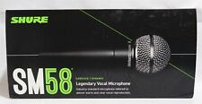 Shure SM58S Multi-Purpose Wired Vocal Microphone   Cardioid   Dynamic   NIB