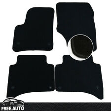 Black Floor Mats Carpet Nylon Front Rear For 03-10 Porsche Cayenne 4Dr