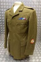 Genuine British Army No 2 Old Pattern Officers Uniform Jacket WW2 Re-enactment