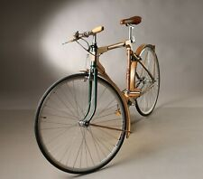 Handcrafted Wooden Bicycle/Single Speed City Bike, Vintage Bicycle, size Medium