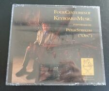 FOUR CENTURIES OF KEYBOARD MUSIC Peter STRYKERS 2 CD Set NEW Free Ship SEALED