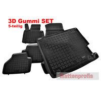 3D Gummimatten + Kofferraumwanne für BMW X3 F25 ab Bj. 09/2010 - Rez