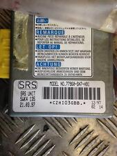 1996 ROVER 620TI 620 TI SALOON ECU SRS CONTROL MODULE 5WK4135 77960-SN7-H91