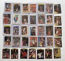 Michael Jordan lot 35 Tons Of Insert Gold Cards