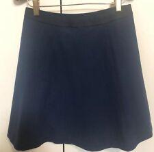 Uniqlo Navy A Line Stretch Size S Skirt New BNWT