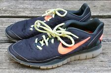 Nike Free TR Fit 2 Shield Black/Bright Crimson Women H2O Repel Running Shoes 8.5