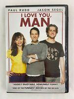 I Love You, Man DVD 2009 Paul Rudd Jason Segel