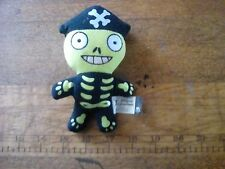 2006 McDonald's Pirates of the Caribbean Happy Meal Toy~Plush Skeleton