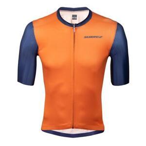 2021 Suarez Russet Men's Short Sleeve Cycling Jersey - in Orange