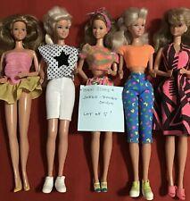 """Teen Scene """"JAZZIE"""" Barbie Cousin Lot Of 5 Vintage 1979"""