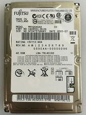 "Disco duro Fujitsu MHV2040AH 40GB 2,5"" IDE"