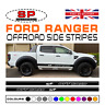 Ford Ranger 4x4 OFFROAD Side Stripes Vinyl Decals Styling Graphics Stickers 10