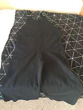 Zara knitwear jumpsuit Black