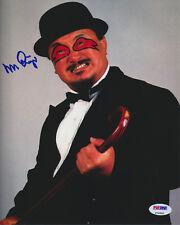 MR FUJI WWF VINTAGE SIGNED 8X10 PHOTO PSA/DNA AUTHENTIC AUTOGRAPH