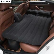 Car Back Seat Cover Car Inflatable Air Mattress Travel Bed Black