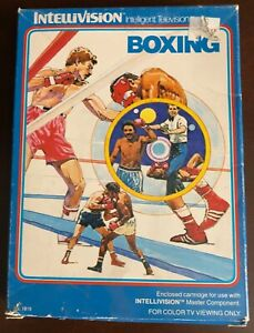 Boxing from Intellivision Inc for Intellivision CIB