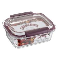 Kilner Fresh Storage Leakproof Glass Container 0.6 Litre - 600ml