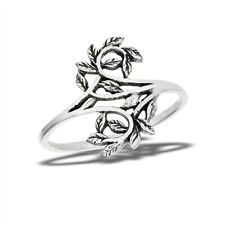 Sterling Silver Vines Ring - Free Gift Packaging