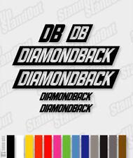 DIAMONDBACK Die-cut Decal Sticker sheet (cycling, mtb, bmx, bike, frame) - V4
