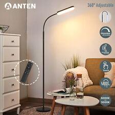 12W LED Stehlampe Flexibel Stehleuchte Dimmbar mit Fernbedienung Touch Leselampe