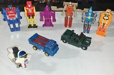 BANDAI Gobots Vintage Toy Lot - 9 Gobots - TONS OF GEMS!