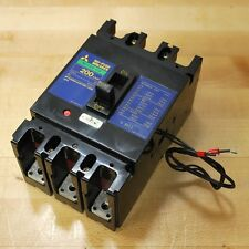 Mitsubishi NF225-CS 200Amp Circuit Breaker. - USED