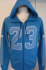 NEW NIKE AIR AJ FLIGHT AIR JUMPMAN BLUE 11 JORDAN FLEECE HOODIE HOODY MEDIUM