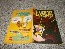 L'UOMO RAGNO N.283 CORNO 1981 ORIGINALE NO RESA OTTIMO tipo DEVIL THOR F4 HULK