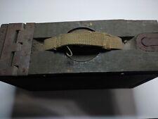 Vintage 30 Cal. Ww1 Wood Ammo Box