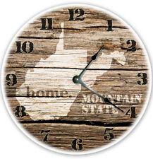 "12"" WEST VIRGINIA STATE HOMELAND CLOCK - Large 12 inch Wall Clock - WV"