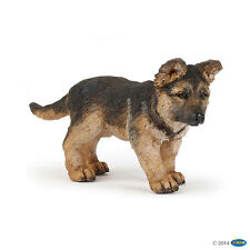 Shepard dog Young one 7 cm Farm animal Papo 54039