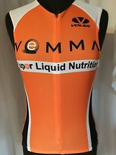 Champ-Sys Cycling Bike Jersey VEMMA VERVE Liquid Nutrition Orange Women's Medium