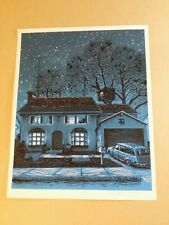 "Tim Doyle ""The Evergreen Terrace""GID Variant Simpson Print"