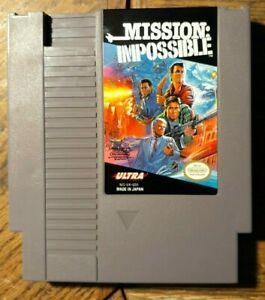 Mission: Impossible (Nintendo NES System 1990) Excellent Condition & Tested