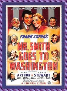 Carte collection Affiche de Film MR. SMITH GOES TO WASHINGTON - N°18