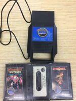 Atari 2600 - Arcadia Supercharger + 3 GAMES. DRAGON STOMPER, COMMUNIST MUTANTS..