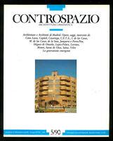 Architettura Controspazio n. 5 settembre ottobre 1990