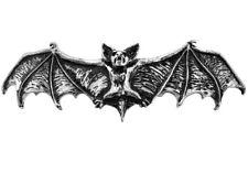 Darkling Vampire Dracula Bat Hair Slide Pewter Barrette Alchemy Gothic HH1