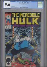 Incredible Hulk #339 CGC 9.4 1987 Marvel  :New Frame