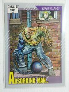 1991: ABSORBING MAN (Marvel Comics) Trading Card #74 [8.5 grade]