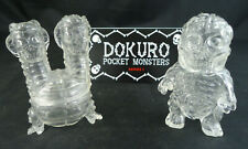 Splurrt Dokuro Pocket Monsters series 1 clear sofubi set suministradora Kaiju Soft vinilo