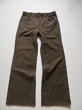 Marlboro Cord Jeans Hose, W 34 /L 30, braun, wide leg Vintage Cordhose ! Gr. 50