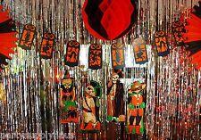 Retro HALLOWEEN Vintage Beistle 1928  SILHOUETTE STRING BANNER Party Decoration