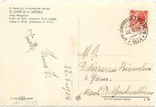 P5064    Annullo ambulante  Domodossola-Milano 1954