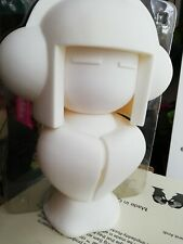 Tokyo X Tokyoplastic Large Size Geisha Girl Blank White  Toy Tokyo Flying Cat