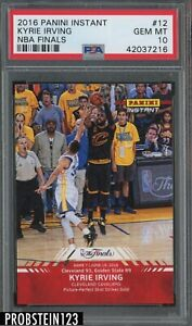 2016 Panini Instant NBA Finals #12 Kyrie Irving Cleveland Cavaliers PSA 10