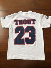 Mike Trout Arkansas Travelers T Shirt Minor League Baseball MLB Youth Small