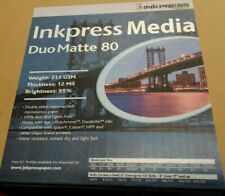 """Inkpress Media Duo 80 Matte 80 Photo Paper 13""""x19""""  -100 Sheets Double-Sided 12M"""